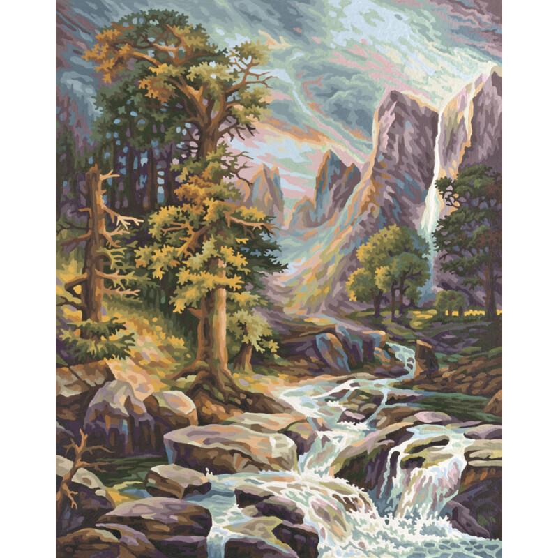 im hochgebirge  malvorlagen  malen nach zahlen 3299