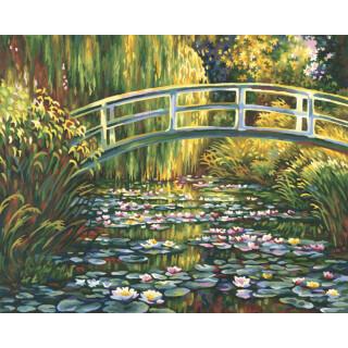 Claude Monet Seerosenteich Malen Nach Zahlen Schipper 2949