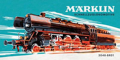 Märklin Dampflokomotive 3048 BR01