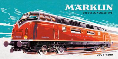 Märklin Diesellokomotive 3021 V200